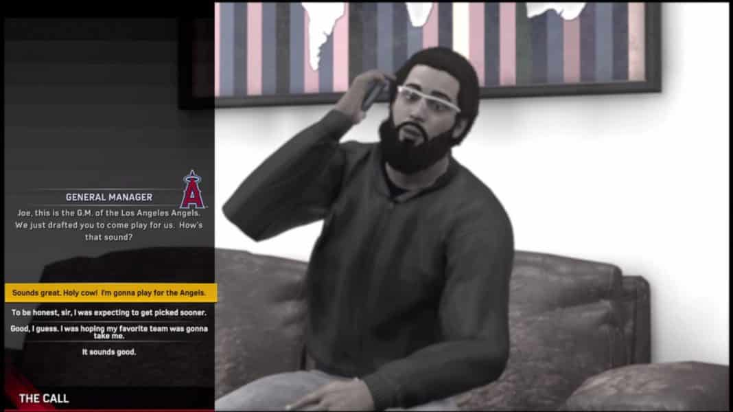 MLB The Show 17 RTTS Convo