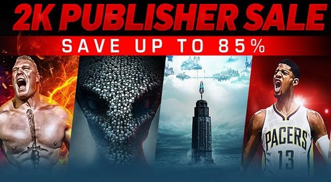 Steam 2K Publisher Sale