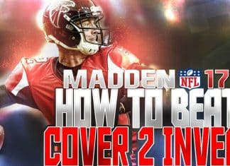 madden nfl 17 tips how to beat cover 2 invert