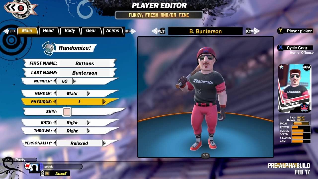 Super Mega Baseball 2 Customization