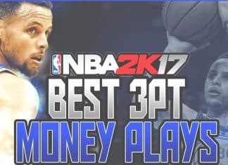 NBA 2k17 Best 3 Point Plays