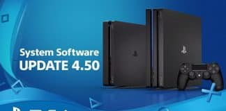 PS4 4.50 System Update