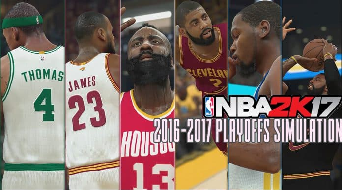2K Simulates NBA Playoffs