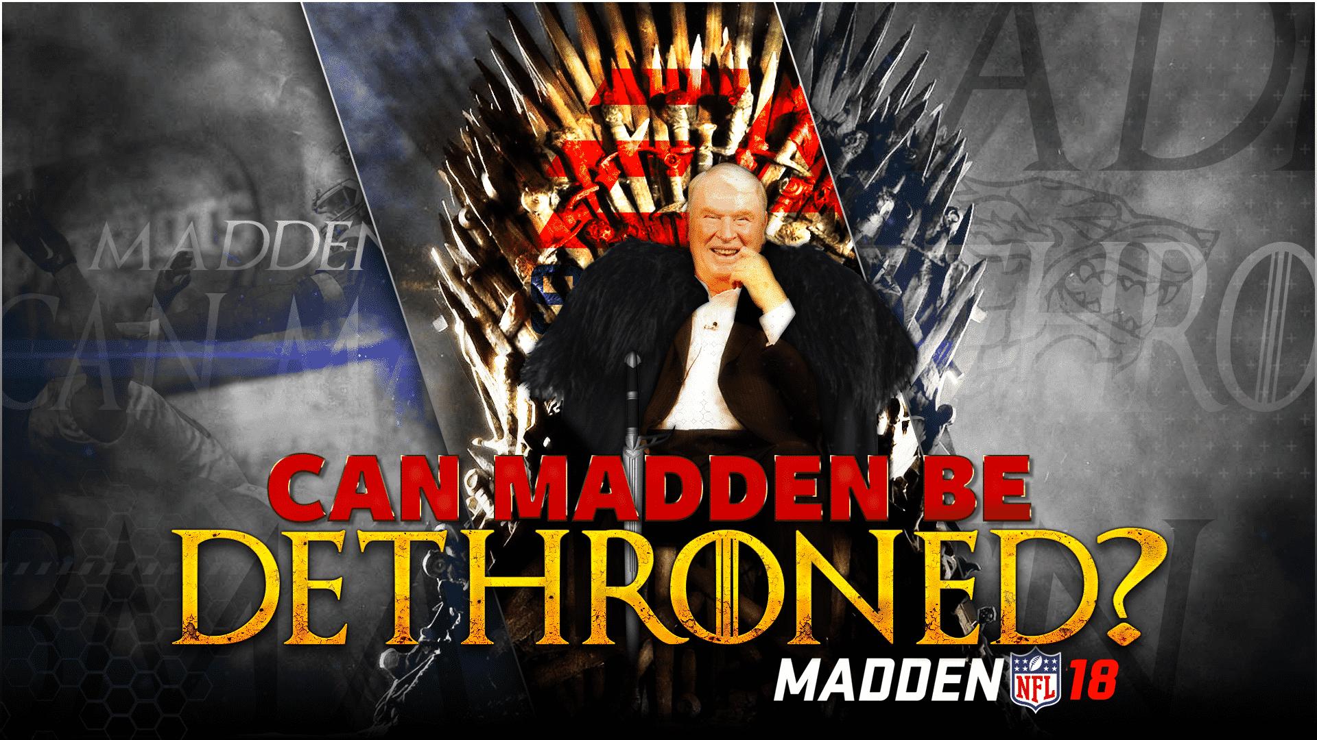 Madden dethroned