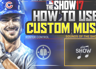 mlb the show 17 add music