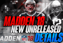 Madden 18 New Unreleased Details