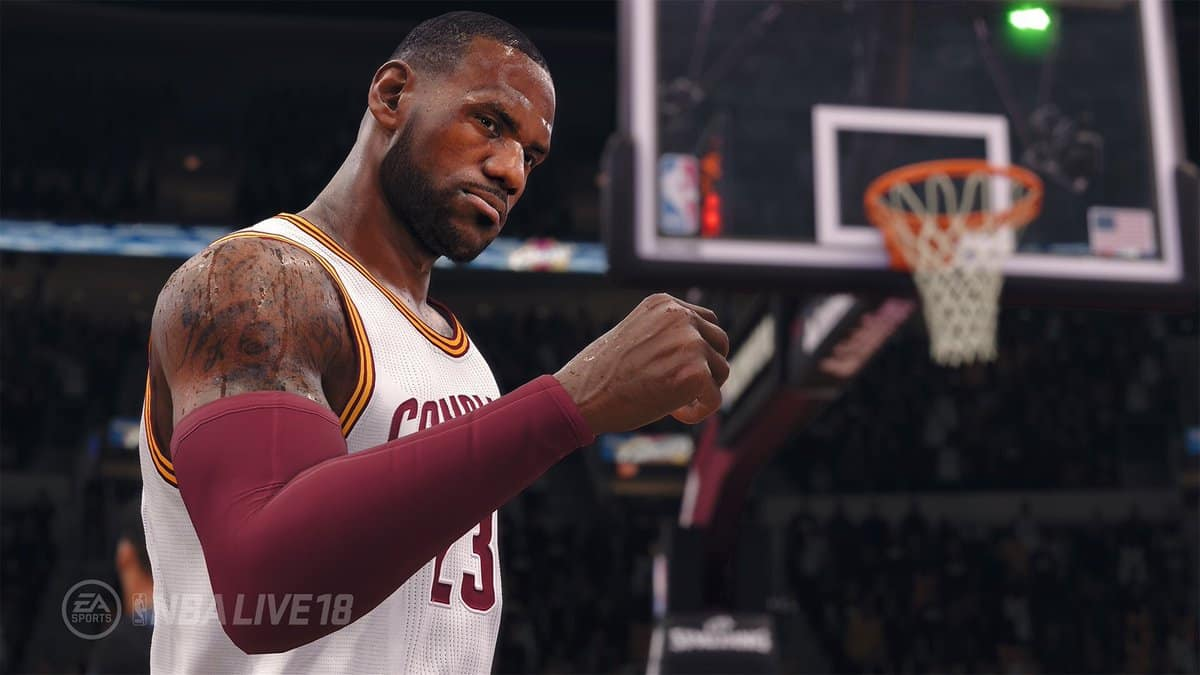 NBA Live 18 Gameplay