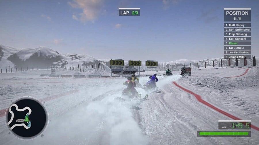 Snow Moto Racing Freedome