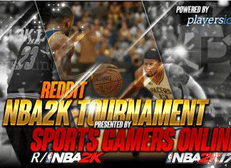 Reddit NBA2K Tournament