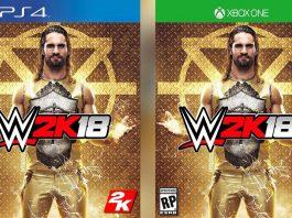 WWE 2K18 cover star