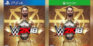 WWE 2K18 cover star