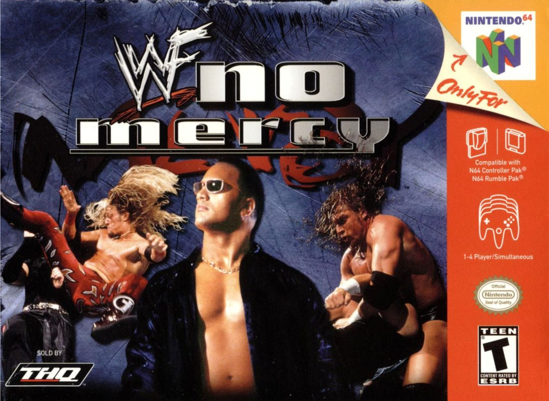 top five wwe games