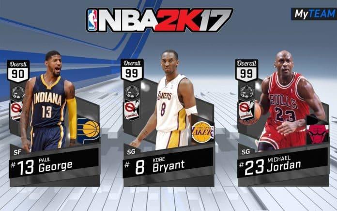NBA 2K17's MyTeam