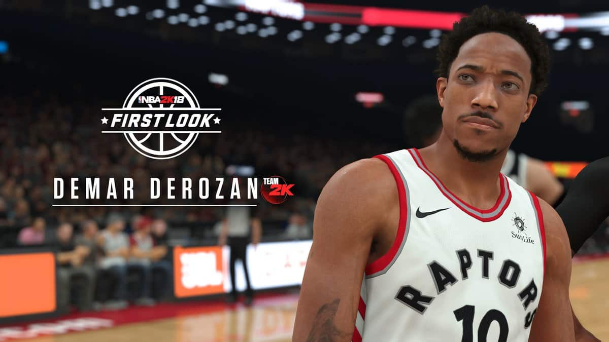 Demar Derozan NBA 2K18