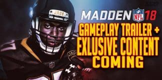 madden 18 gameplay trailer exclusive content jaguars