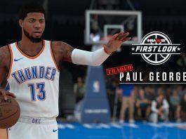 Paul George NBA 2K18