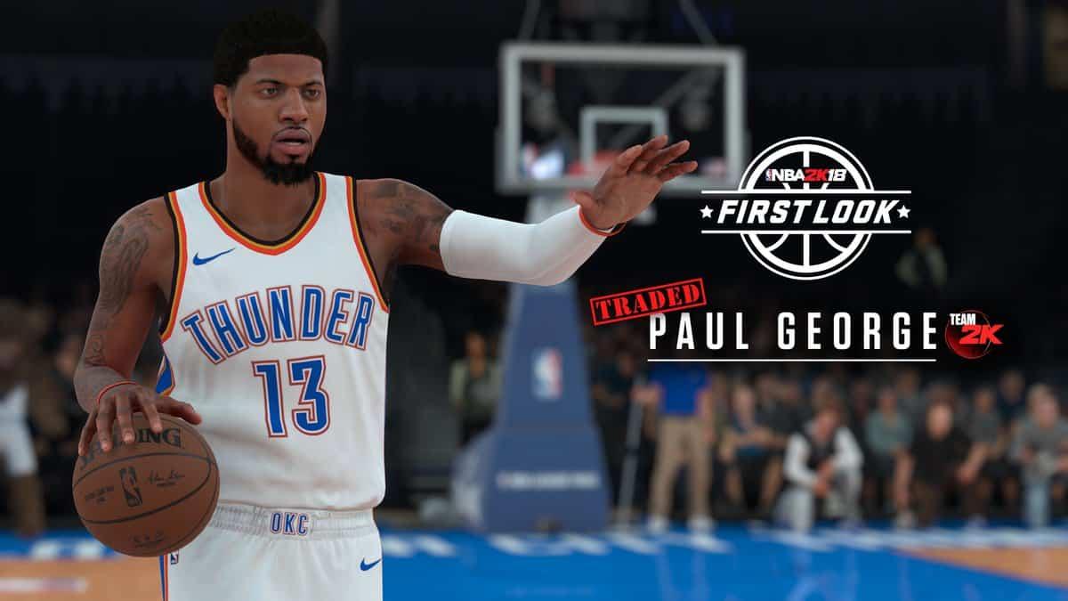 Paul George NBA 2K18