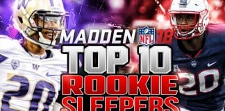 Madden 18 Rookie Sleepers