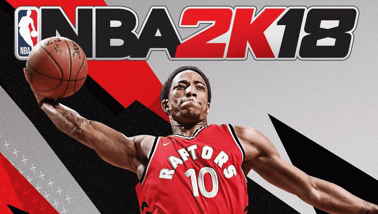 nba 2k18 candian cover demar