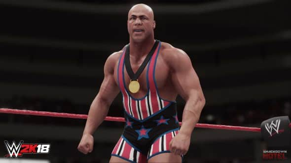 ECW Kurt Angle