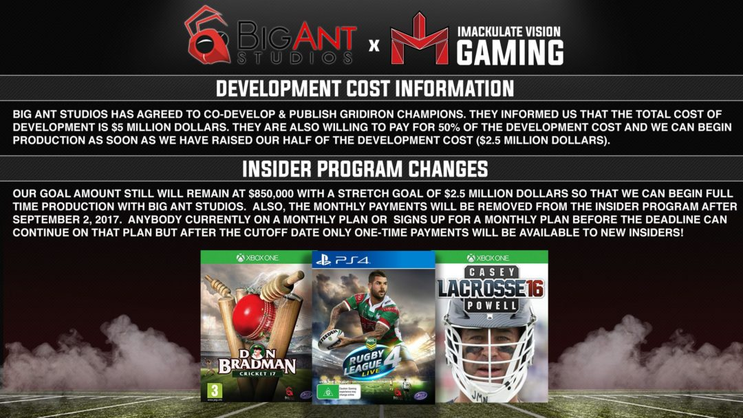 NCAA tFootball IMV Gaming
