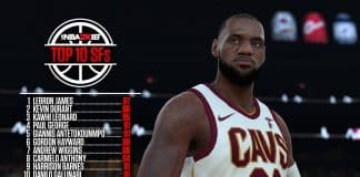 nba 2k18 top ten small forwards