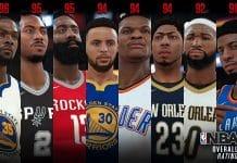 NBA 2K18 Top 10
