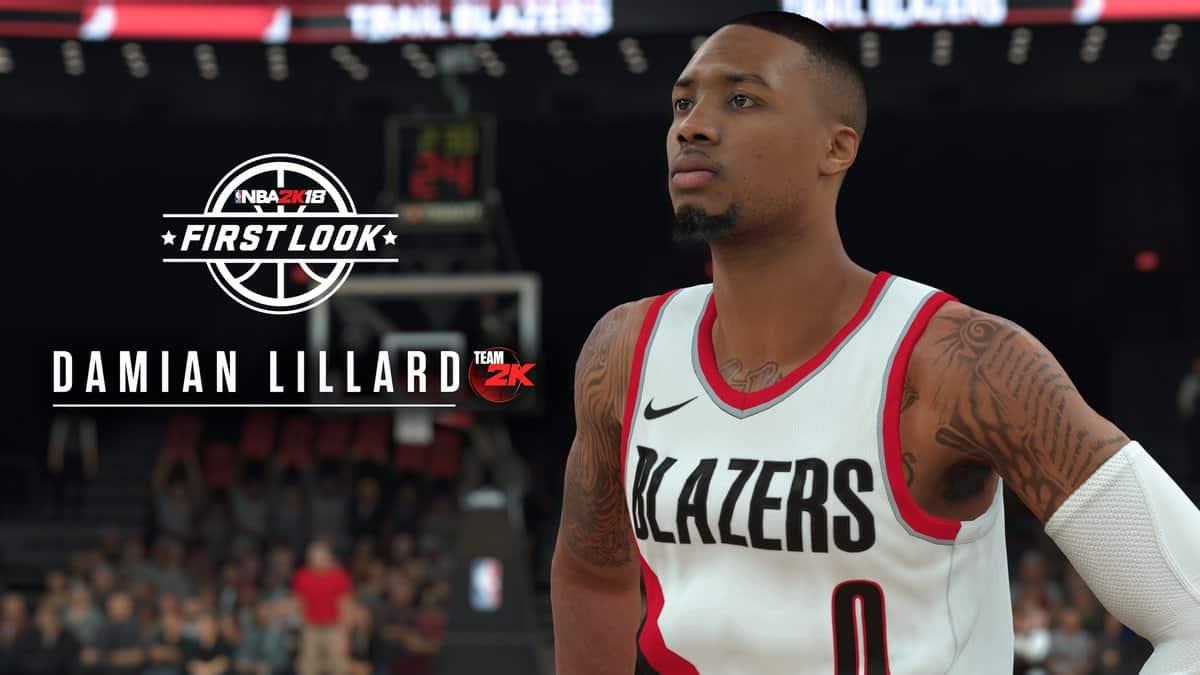 Damian Lillard NBA 2K18