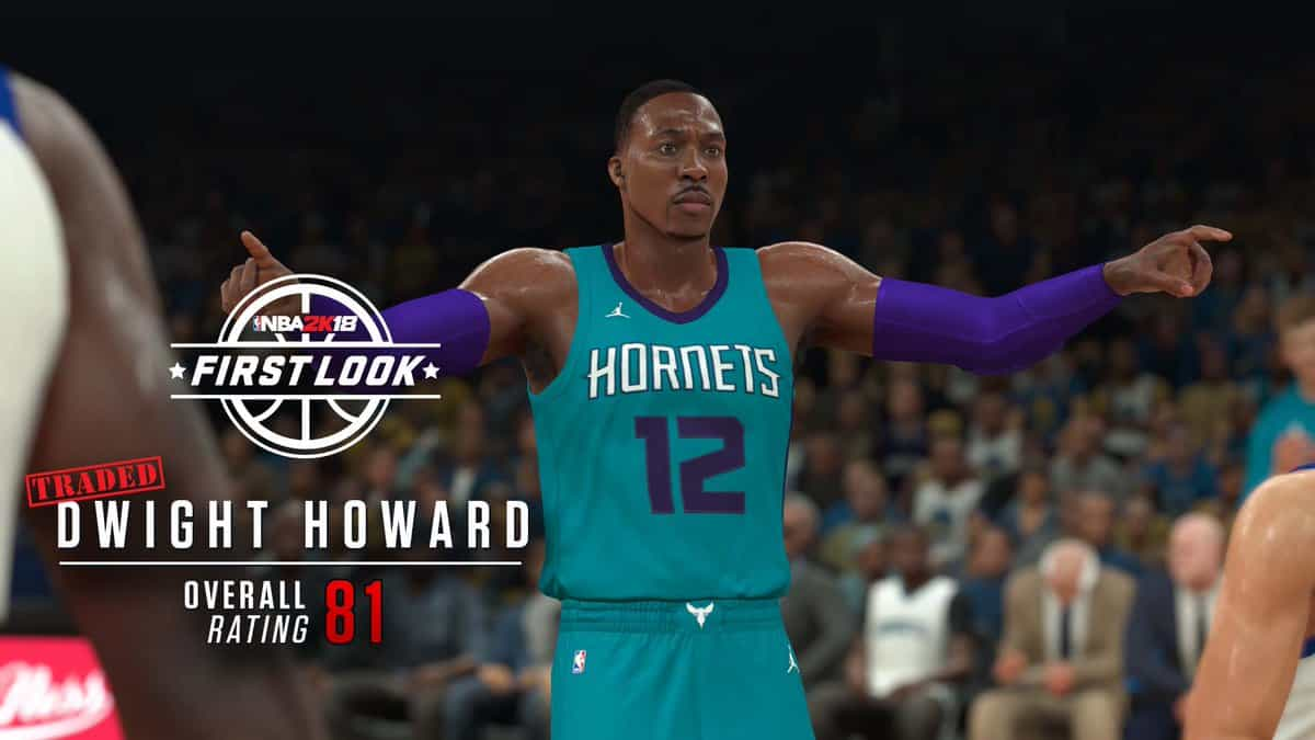Dwight Howard NBA 2K18