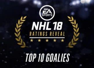 NHL 18 Top 10 Goalies