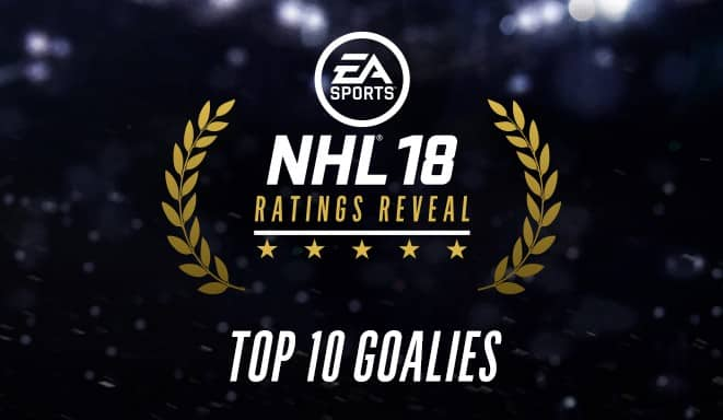 NHL 18 Top 10 Goalies