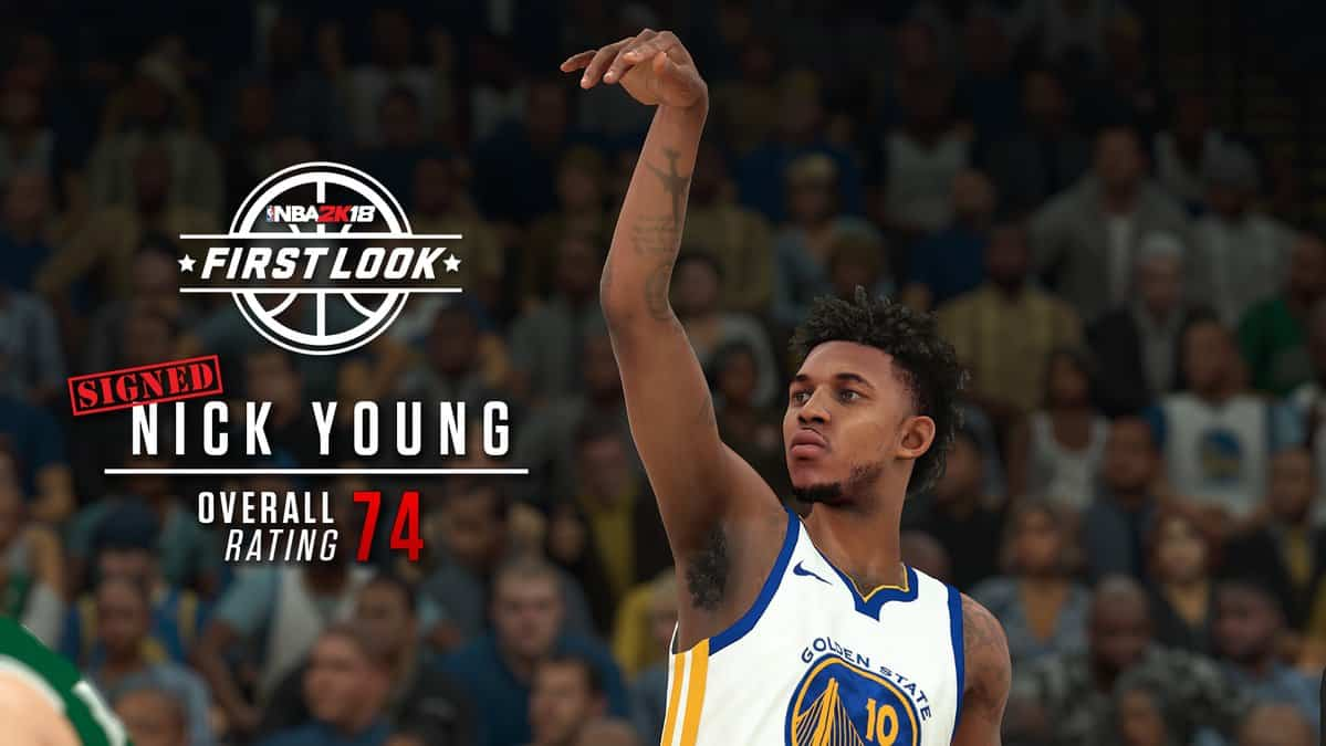 Nick Young NBA 2K18