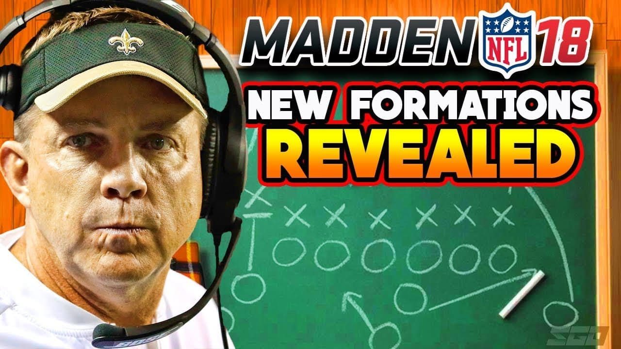 New Formations and Playbook