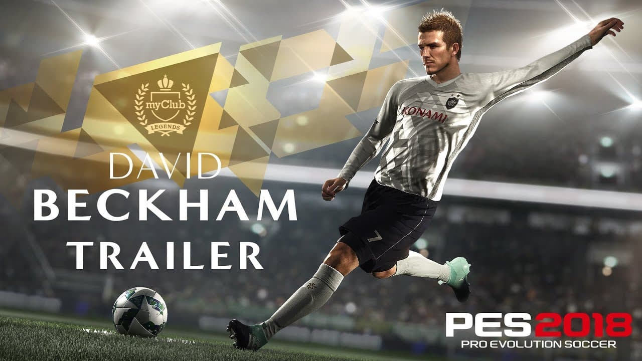 David Beckham Signs Exclusive Deal Konami