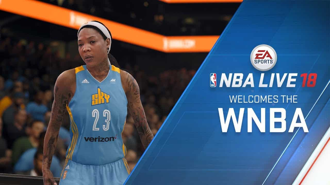 UPDATED: NBA Live 18 To Feature WNBA Teams - Sports Gamers ...