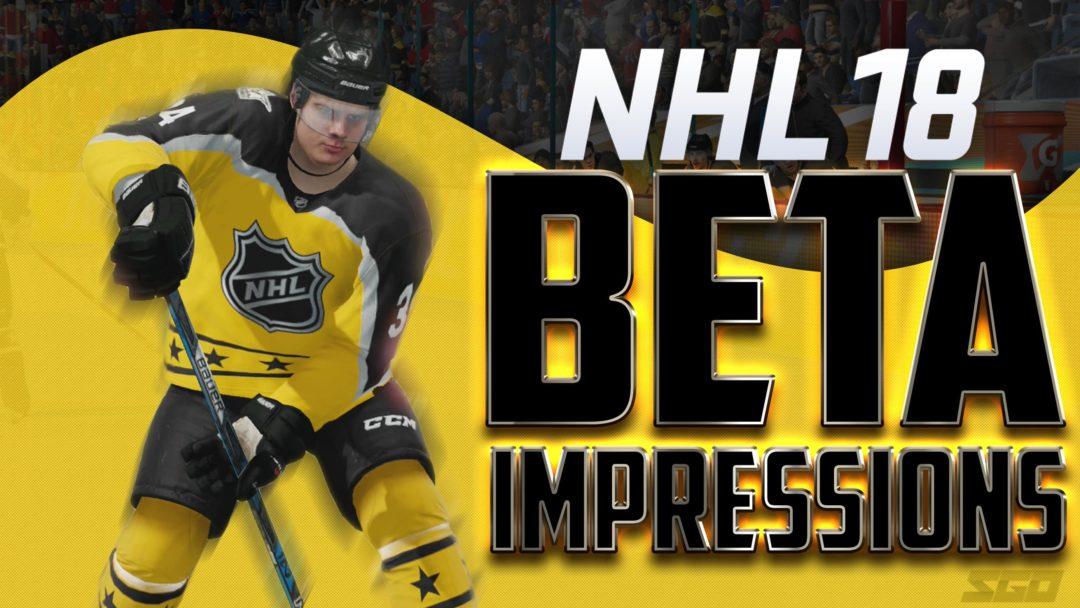 NHL 18 Beta