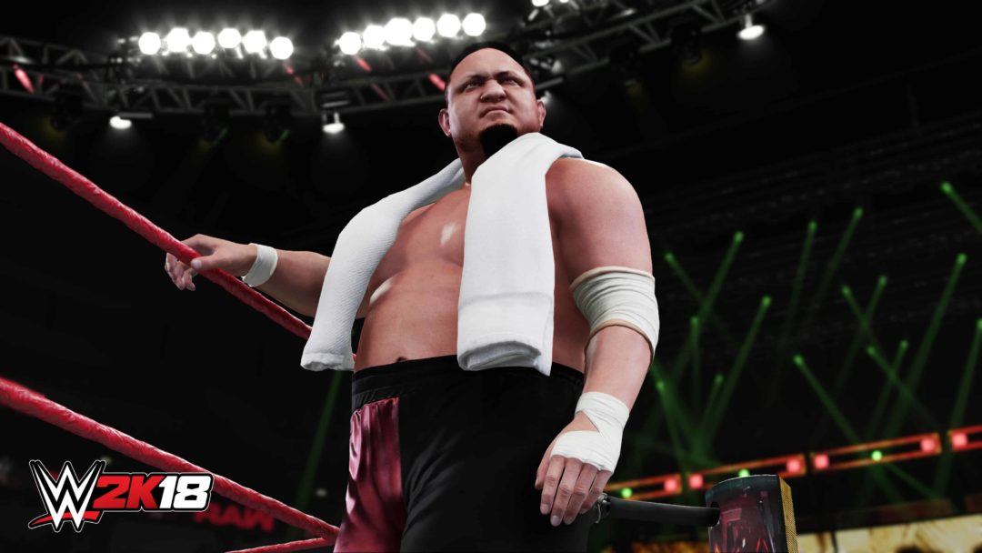 WWE 2K18 Glitches