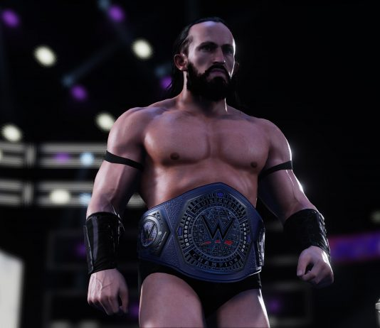 WWE 2K18 Carry System