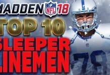 Madden 18 Sleeper O-line