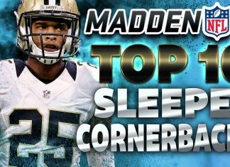Madden 18 Top 10 Sleeper Cornerbacks