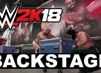 WWE 2K18 Backstage Arenas