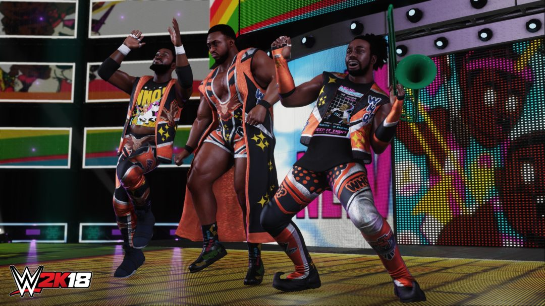 Roster Reveal WWE 2K18