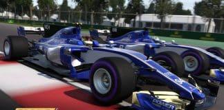 F1 2017 patch 1.8