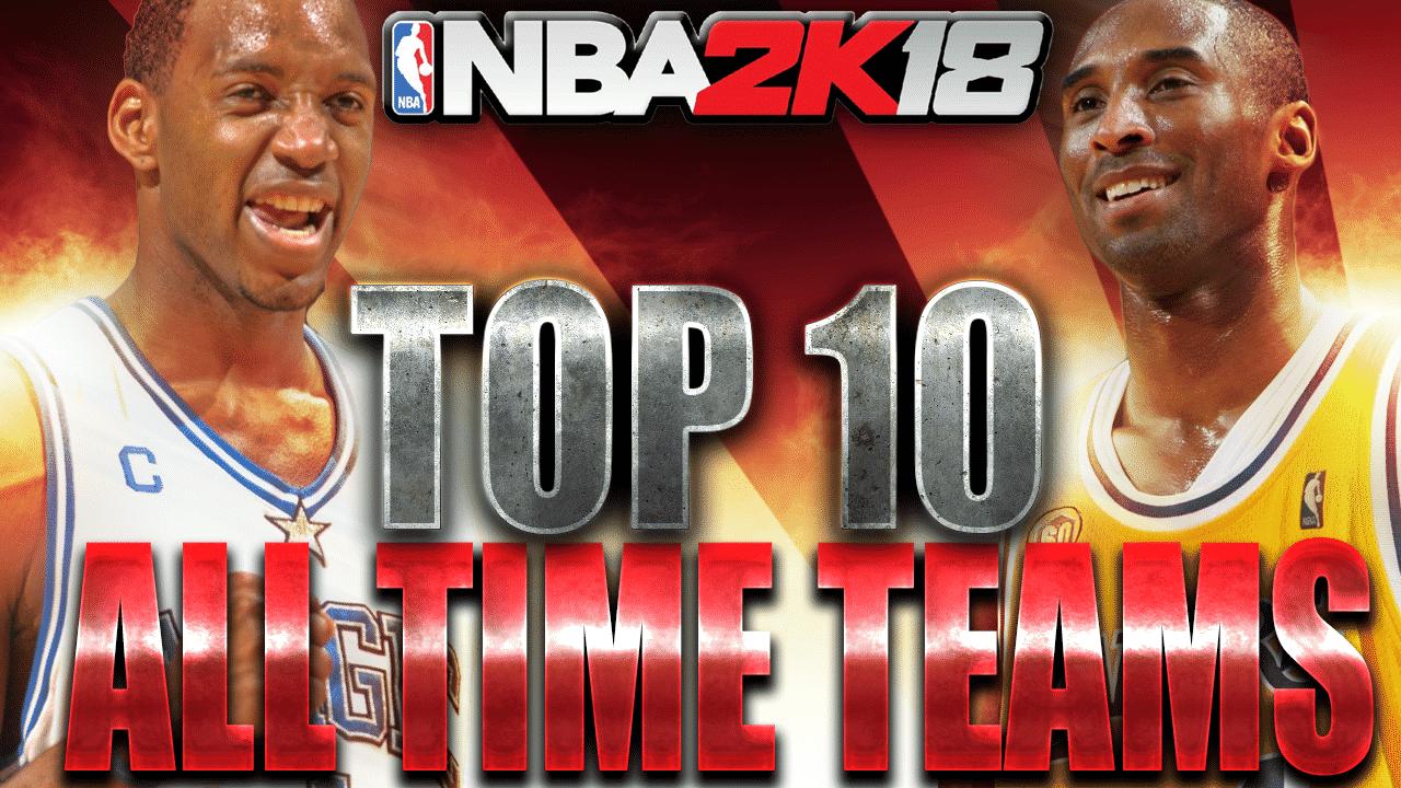 NBA 2K18 All-Time