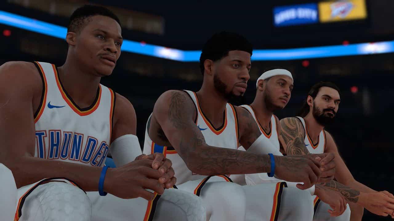 NBA 2K28 Season Sim
