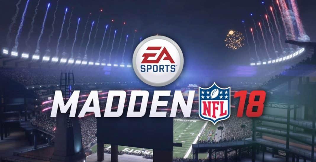 Madden NFL 18 update 1.05
