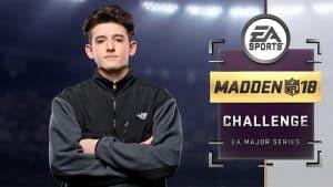 2018 Madden Challenge champion Drini Gjoka
