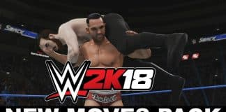 WWE 2K18 New Moves DLC