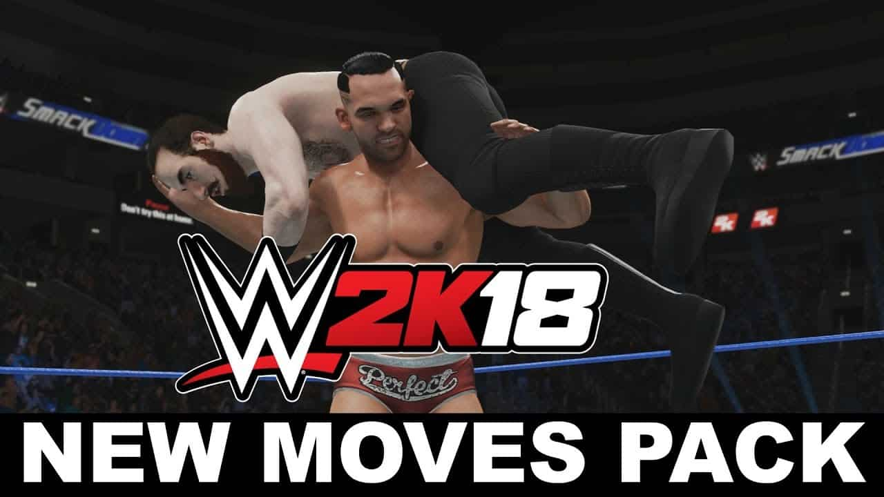 WWE 2K18 New Moves DLC