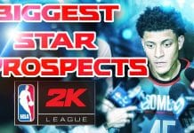 NBA 2K League Star Prospects